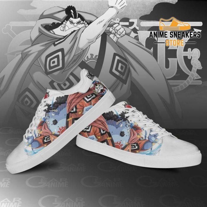 Jinbei Skate Shoes One Piece Custom Anime