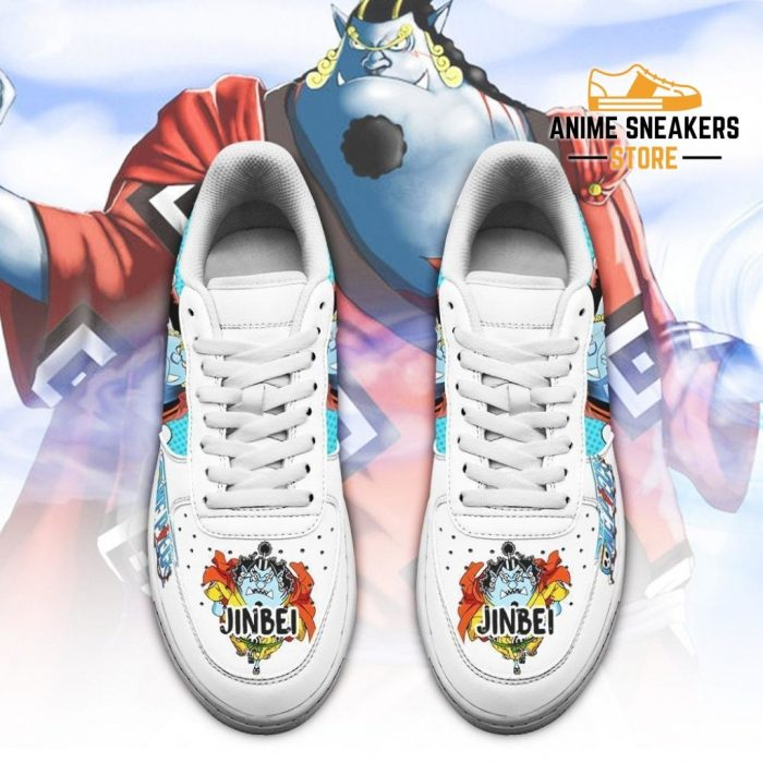 Jinbei Sneakers Custom One Piece Anime Shoes Fan Pt04 Air Force