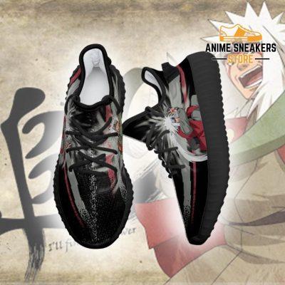 Jiraiya Jutsu Yeezy Shoes Naruto Anime Fan Gift Idea Tt03