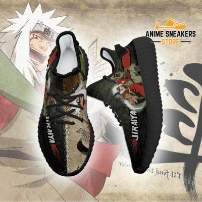 Jiraiya Yeezy Shoes Naruto Anime Sneakers Fan Gift Tt03