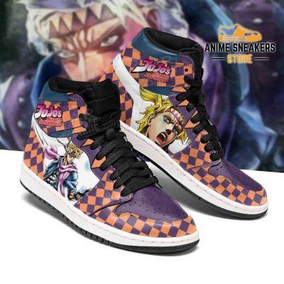 Jojos Bizarre Adventure Sneakers Caesar Anthonio Zeppeli Shoes Jd