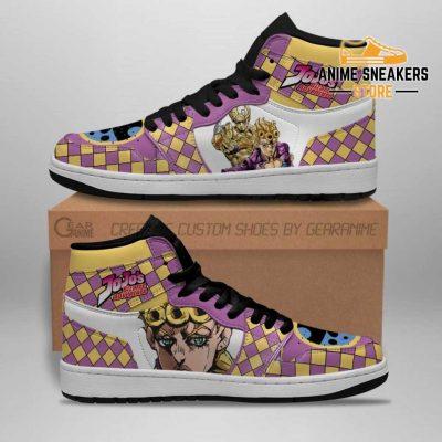 Jojos Bizarre Adventure Sneakers Giorno Giovanna Anime Shoes Jd