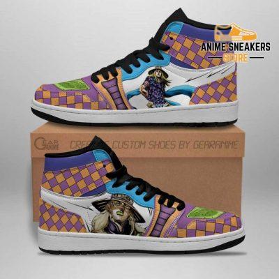 Jojos Bizarre Adventure Sneakers Gyro Zeppeli Anime Shoes Jd
