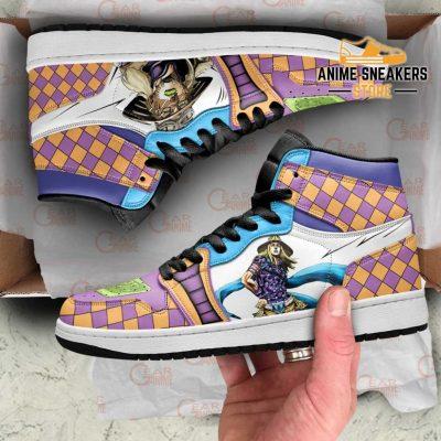 Jojos Bizarre Adventure Sneakers Gyro Zeppeli Anime Shoes Men / Us6.5 Jd