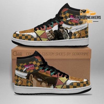 Jojos Bizarre Adventure Sneakers Jotaro Kujo Anime Shoes Jd