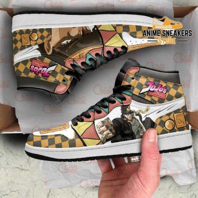 Jojos Bizarre Adventure Sneakers Jotaro Kujo Anime Shoes Men / Us6.5 Jd