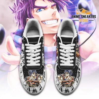 Jonathan Joestar Sneakers Manga Style Jojos Anime Shoes Fan Gift Pt06 Air Force