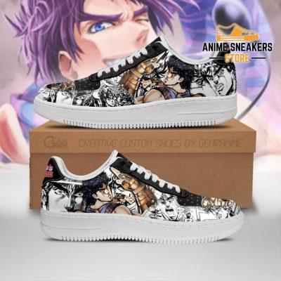 Jonathan Joestar Sneakers Manga Style Jojos Anime Shoes Fan Gift Pt06 Men / Us6.5 Air Force