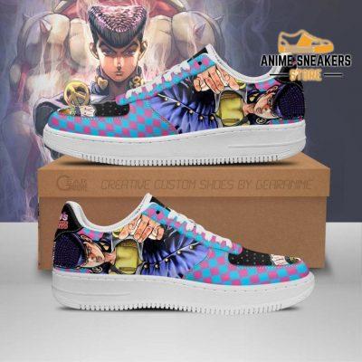 Josuke Higashikata Sneakers Jojo Anime Shoes Fan Gift Idea Pt06 Men / Us6.5 Air Force