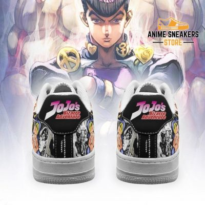 Josuke Higashikata Sneakers Manga Style Jojos Anime Shoes Fan Gift Pt06 Air Force