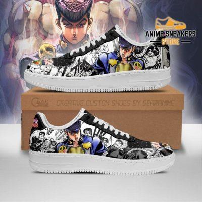 Josuke Higashikata Sneakers Manga Style Jojos Anime Shoes Fan Gift Pt06 Men / Us6.5 Air Force