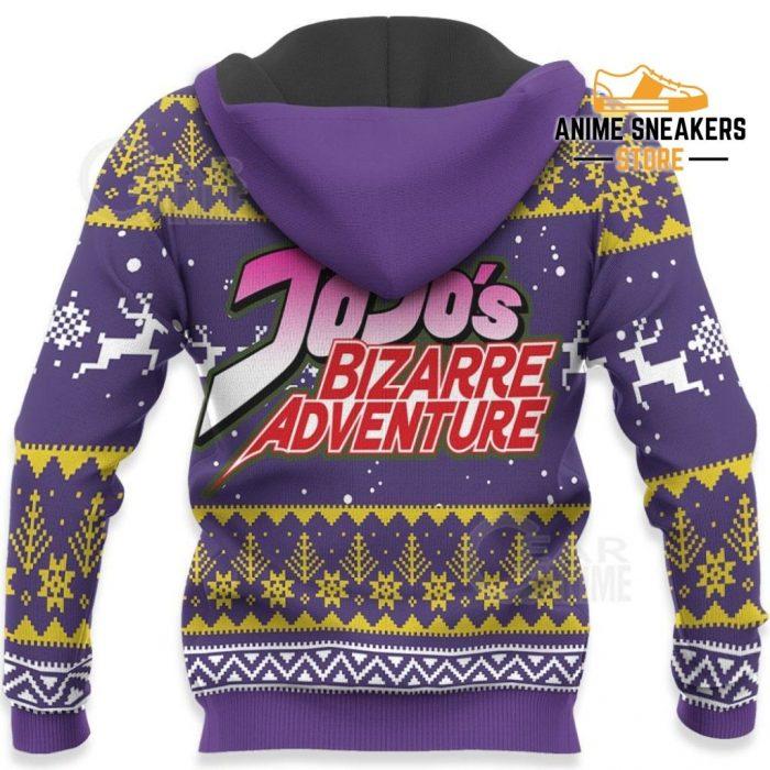Josuke Higashikata Ugly Christmas Sweater Jojos Bizarre Adventure Anime Va11 All Over Printed Shirts