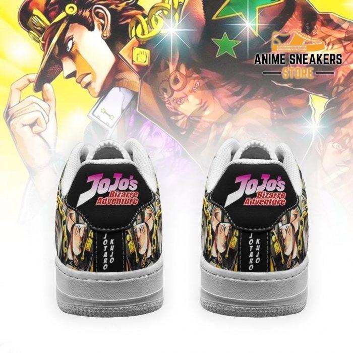 Jotaro Kujo Sneakers Jojo Anime Shoes Fan Gift Idea Pt06 Air Force