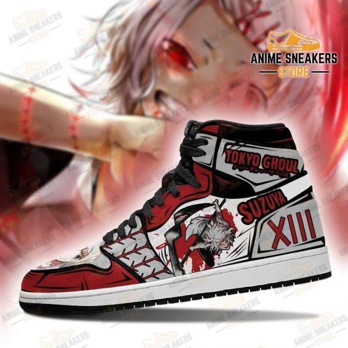 Juuzou Suzuya Sneakers Custom Tokyo Ghoul Anime Shoes Mn05 Jd