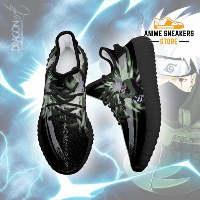 Kakashi Jutsu Yeezy Shoes Naruto Anime Fan Gift Idea Tt03
