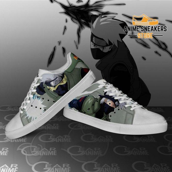 Kakashi Skate Shoes Naruto Anime Custom Pn10