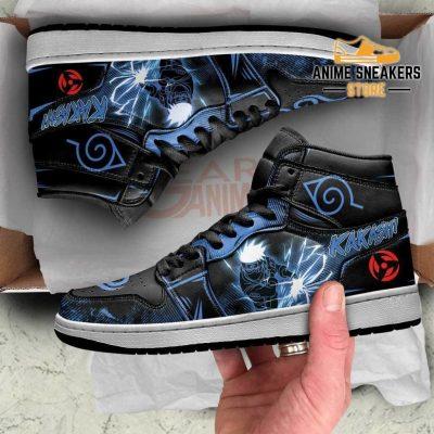 Kakashi Sneakers Naruto Anime Custom Shoes Lightning Skill Jd