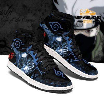 Kakashi Sneakers Naruto Anime Custom Shoes Lightning Skill Men / Us6.5 Jd