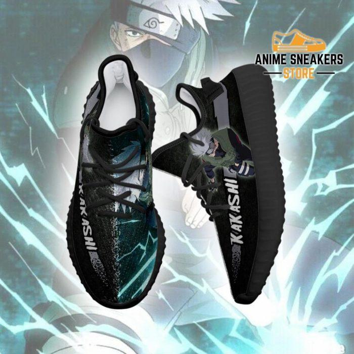 Kakashi Yeezy Shoes Naruto Anime Sneakers Fan Gift Tt03