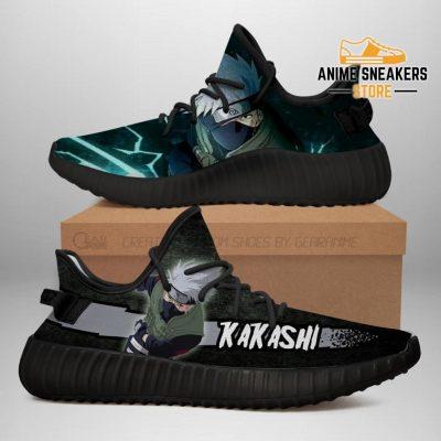 Kakashi Yeezy Shoes Naruto Anime Sneakers Fan Gift Tt03 Men / Us6