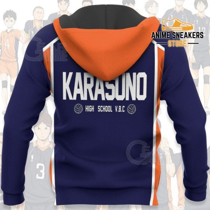 Karasuno Haikyuu Anime Cosplay Costumes All Over Printed Shirts