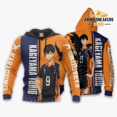 Karasuno Kageyama Tobio Hoodie Haikyuu Custom Anime Shirt / S All Over Printed Shirts