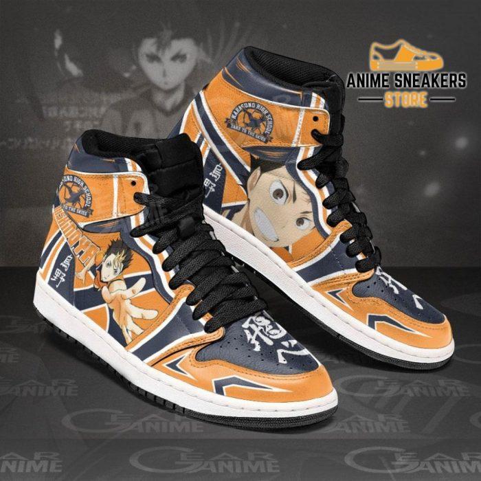 Karasuno Nishinoya Yuu Sneakers Haikyuu Anime Shoes Mn10 Jd
