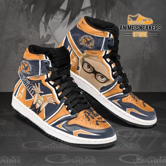 Karasuno Tsukishima Kei Sneakers Haikyuu Anime Shoes Mn10 Jd