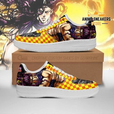 Kars Sneakers Jojos Bizarre Adventure Anime Shoes Fan Gift Idea Pt06 Men / Us6.5 Air Force