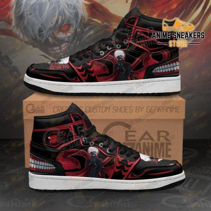 Ken Kaneki Kagune Sneakers Tokyo Ghoul Custom Anime Shoes Men / Us6.5 Jd