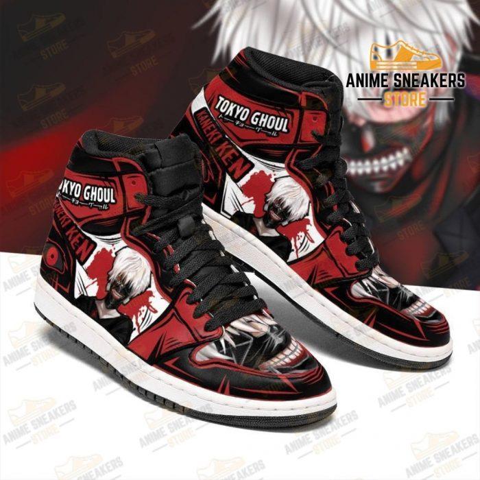 Ken Kaneki Sneakers Tokyo Ghoul Anime High Top Shoes Custom Jd