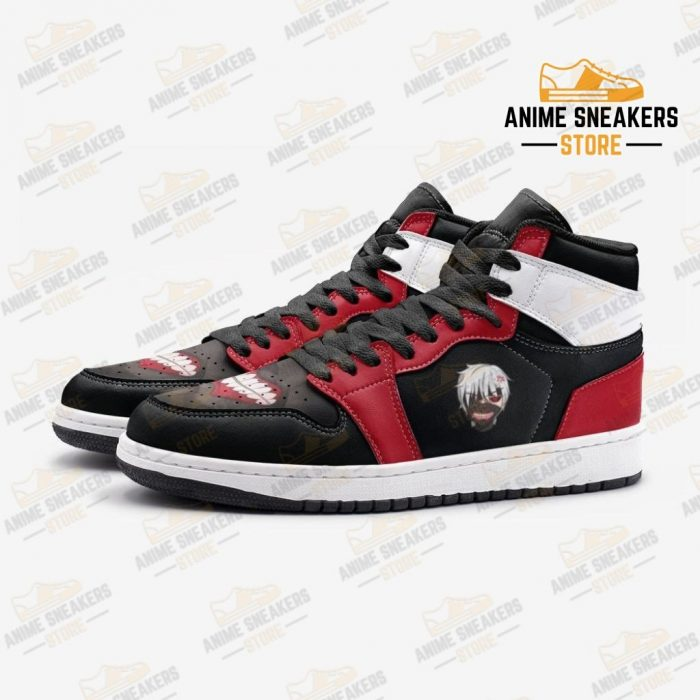Ken Kaneki V1 Tokyo Ghoul Custom J-Force Shoes Mens