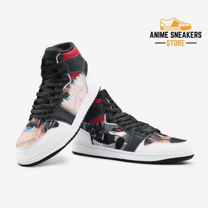 Ken Kaneki V2 Tokyo Ghoul Custom J-Force Shoes Mens