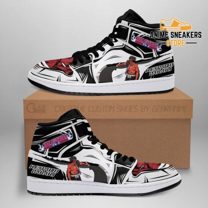 Kenpachi Sneakers Bankai Bleach Anime Shoes Fan Gift Idea Mn05 Men / Us6.5 Jd