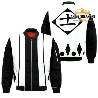 Kenpachi Zaraki Shirt Costume Bleach Anime Hoodie Sweater Bomber Jacket / S All Over Printed Shirts