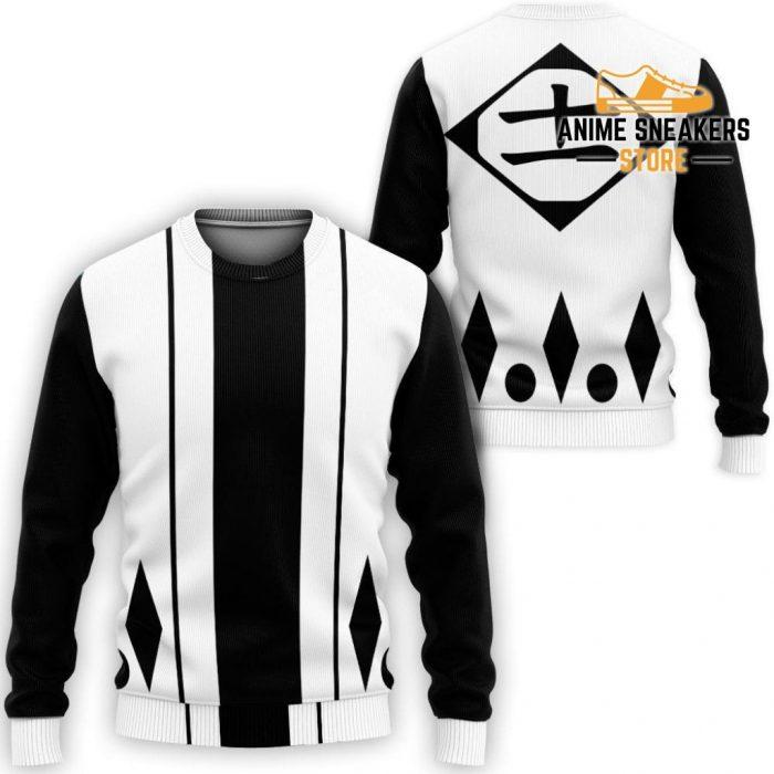 Kenpachi Zaraki Shirt Costume Bleach Anime Hoodie Sweater / S All Over Printed Shirts