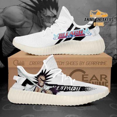 Kenpachi Zaraki Shoes Bleach Custom Anime Sneakers Men / Us6 Yeezy