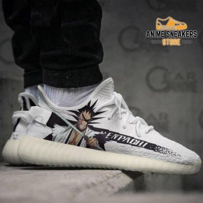 Kenpachi Zaraki Shoes Bleach Custom Anime Sneakers Yeezy