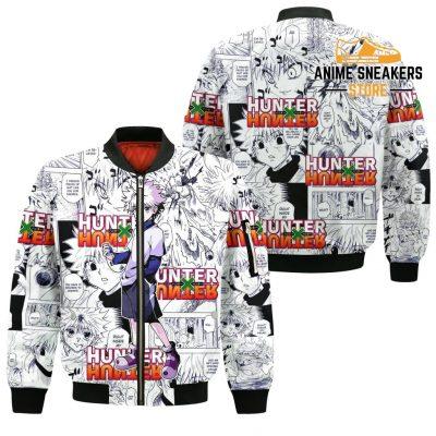 Killua Hunter X Shirt Sweater Hxh Anime Hoodie Manga Jacket Bomber / S All Over Printed Shirts