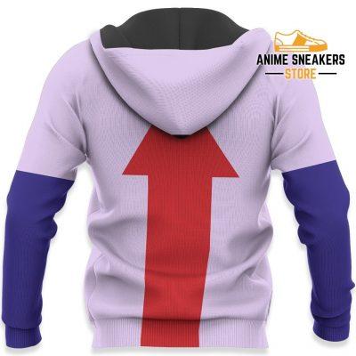 Killua Hunter X Uniform Shirt Hxh Anime Hoodie Jacket All Over Printed Shirts
