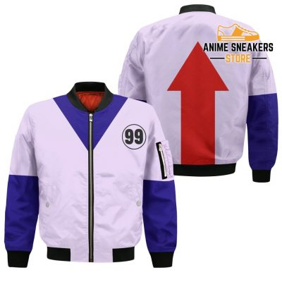Killua Hunter X Uniform Shirt Hxh Anime Hoodie Jacket Bomber / S All Over Printed Shirts