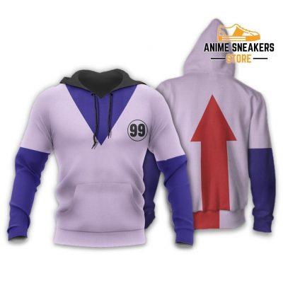 Killua Hunter X Uniform Shirt Hxh Anime Hoodie Jacket / S All Over Printed Shirts