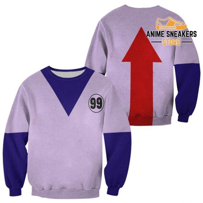 Killua Hunter X Uniform Shirt Hxh Anime Hoodie Jacket Sweater / S All Over Printed Shirts
