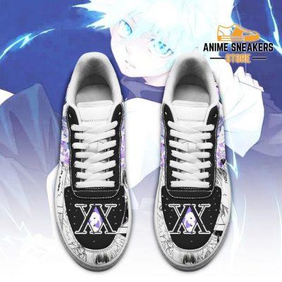 Killua Sneakers Custom Hunter X Anime Shoes Fan Pt05 Air Force