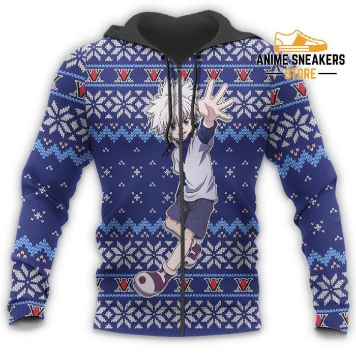Killua Ugly Christmas Sweater Hunter X Anime Xmas Gift Custom Clothes All Over Printed Shirts