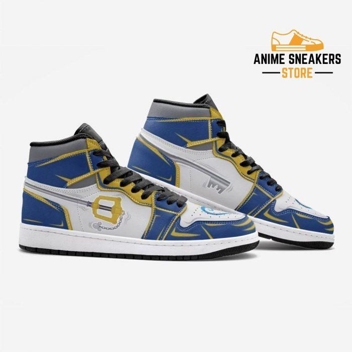 Kingdom Key Hearts Custom J-Force Shoes Mens