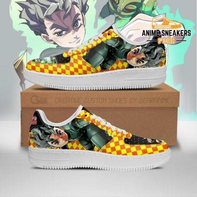 Koichi Hirose Sneakers Jojo Anime Shoes Fan Gift Idea Pt06 Men / Us6.5 Air Force