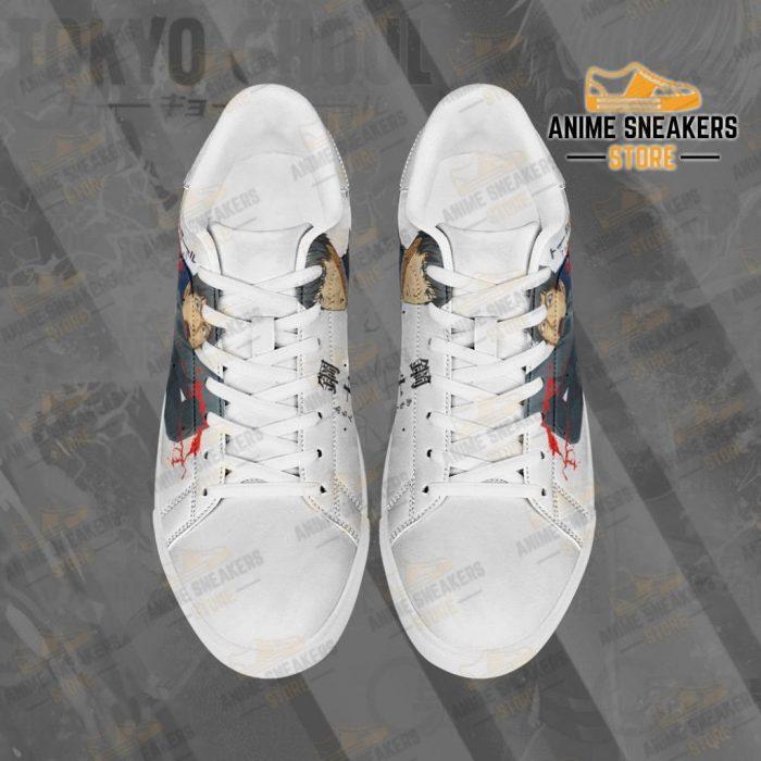 Koutarou Amon Skate Shoes Tokyo Ghoul Custom Anime Pn11