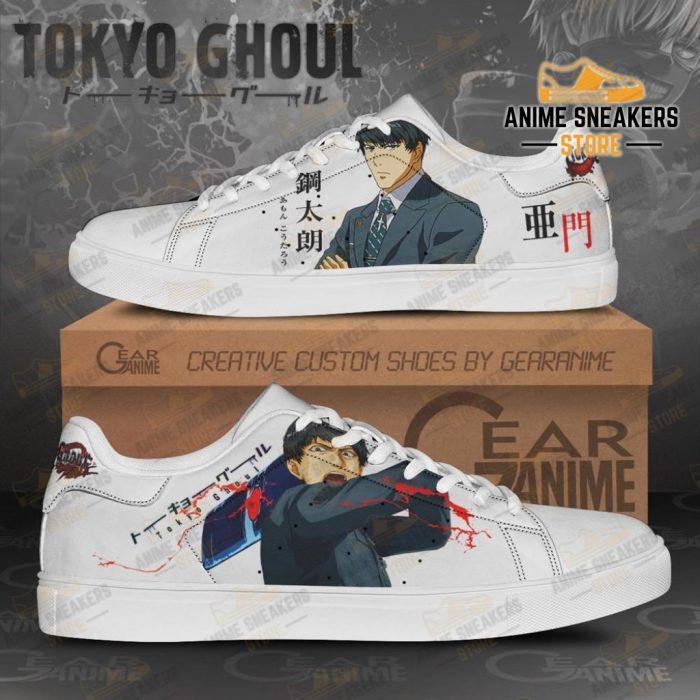 Koutarou Amon Skate Shoes Tokyo Ghoul Custom Anime Pn11 Men / Us6