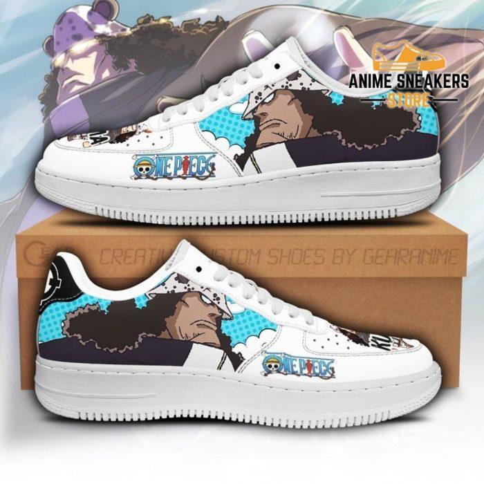 Kuma Sneakers Custom One Piece Anime Shoes Fan Pt04 Men / Us6.5 Air Force